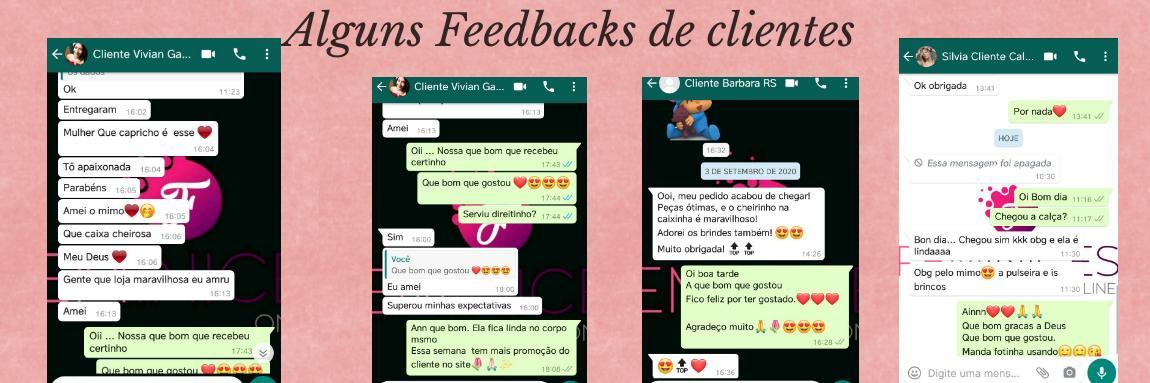 feedbacks clientes